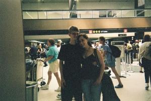 Seattle Airport - Drew & Rhi