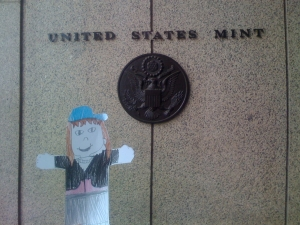 Flat Emmy at the United States Mint